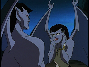 Disney Gargoyles - Avalon part 2 - angela fangirls over goliath