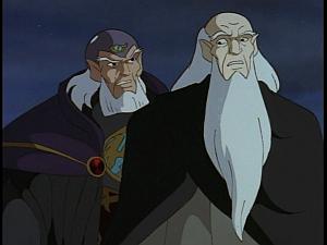 Disney Gargoyles - Avalon part 2 - archmage threatens himself