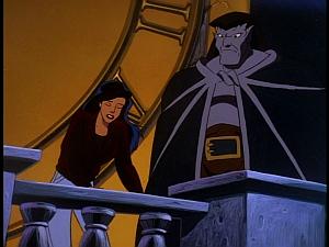 Disney Gargoyles - The Cage - elisa talks about derek to goliath