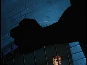 Disney Gargoyles - The Cage - goliath's fist