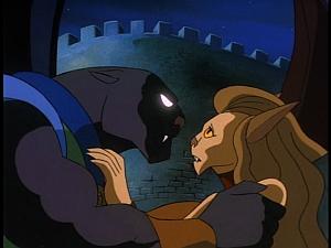Disney Gargoyles - The Cage - maggie stops talon