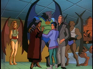 Disney Gargoyles - The Cage - mutates and maza family