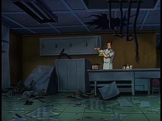 Disney Gargoyles - The Cage - sevarius in ruined lab