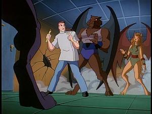 Disney Gargoyles - The Cage - sevarius with poison