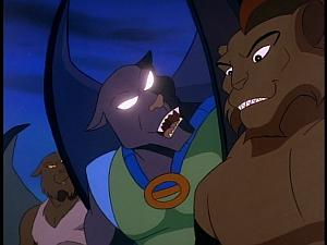Disney Gargoyles - The Cage - talon claw fang attack