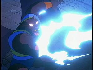 Disney Gargoyles - The Cage - talon electric attack
