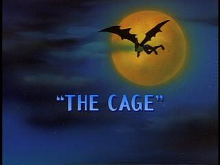 Disney Gargoyles - The Cage - title