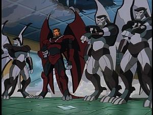 Disney Gargoyles - The Cage - xanatos and steel clan