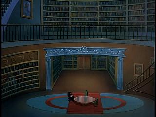 Disney Gargoyles - The Cage - xanatos in eyrie building library