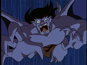 Disney Gargoyles - The Price - goliath horror seeing hudson shot