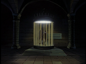 Disney Gargoyles - The Price - hudson in cage