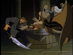 Disney Gargoyles - The Price - hudson kicks xanatos