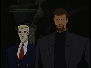 Disney Gargoyles - The Price - owen and xanatos meet hudson