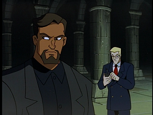 Disney Gargoyles - The Price - owen calling security, xanatos watches hudson