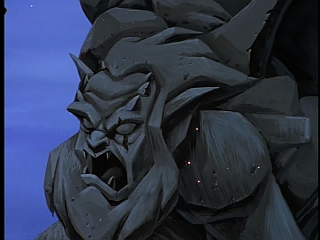 Disney Gargoyles - The Price - sparkle dust on hudson