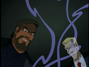 Disney Gargoyles - The Price - xanatos and owen watch magic brew