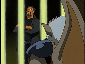Disney Gargoyles - The Price - xanatos angry