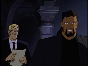 Disney Gargoyles - The Price - xanatos being snippy with owen