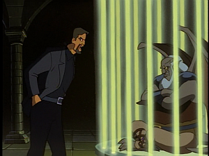 Disney Gargoyles - The Price - xanatos being snippy