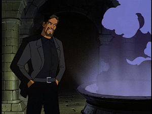 Disney Gargoyles - The Price - xanatos happy with brew