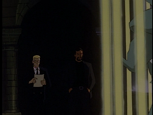 Disney Gargoyles - The Price - xanatos watching hudson, owen comes