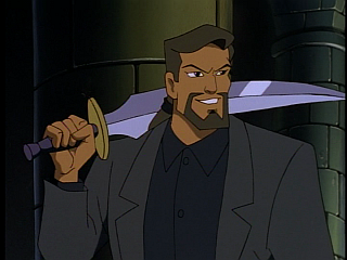 Disney Gargoyles - The Price - xanatos with hudson's sword