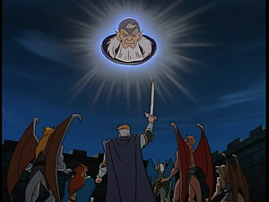 Disney Gargoyles - Avalon part 2 - archmage in sky