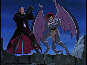 Disney Gargoyles - Avalon part 2 - macbeth and demona