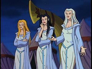 Disney Gargoyles - Avalon part 2 - weird sisters agree