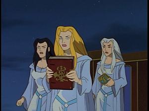 Disney Gargoyles - Avalon part 2 - weird sisters with items