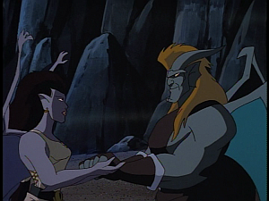Disney Gargoyles - Avalon part 3 - angela says goodbye to gabe