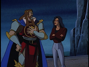 Disney Gargoyles - Avalon part 3 - arthur and elisa
