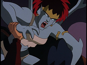 Disney Gargoyles - Avalon part 3 - demona attacks elisa