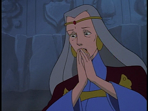 Disney Gargoyles - Avalon part 3 - katherine cries over magus