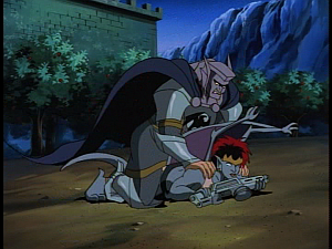 Disney Gargoyles - Avalon part 3 - tom tackles demona