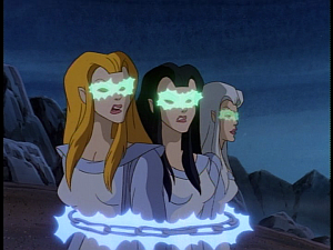 Disney Gargoyles - Avalon part 3 - weird sisters