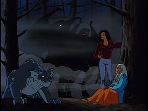Disney Gargoyles - Heritage - gargoyles face grandmother