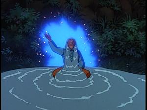 Disney Gargoyles - Heritage - grandmother water