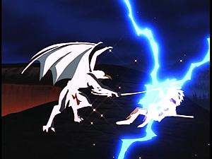 Disney Gargoyles - Heritage - lightning ax