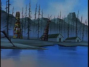 Disney Gargoyles - Heritage - town