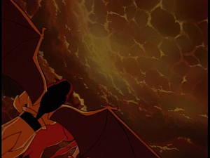 Disney Gargoyles - Heritage - volcano