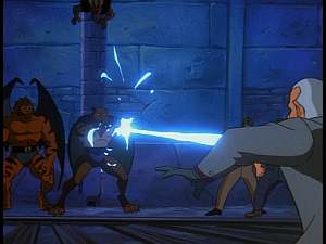 Disney Gargoyles - Kingdom - fang shoots al
