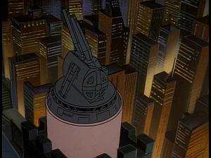Disney Gargoyles - Kingdom - laser turret