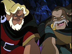 Disney Gargoyles - Shadows of the Past - captain hakon illusion