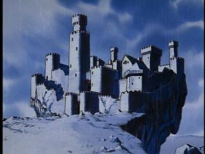Disney Gargoyles - Shadows of the Past - castle wyvern