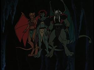 Disney Gargoyles - Shadows of the Past - demona othelo desdemona