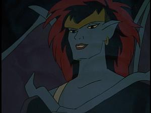 Disney Gargoyles - Shadows of the Past - demona smug