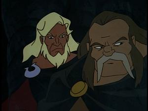 Disney Gargoyles - Shadows of the Past - ghosts hakon captain