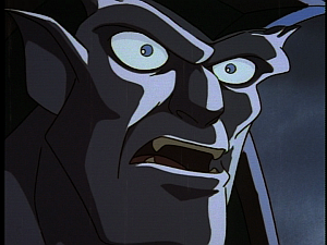 Disney Gargoyles - Shadows of the Past - goliath shocked