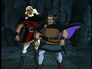 Disney Gargoyles - Shadows of the Past - hakon and captain